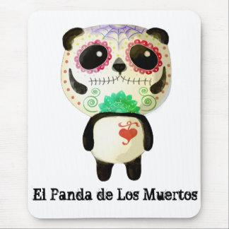 El Panda de Los Muertos Alfombrillas De Ratones