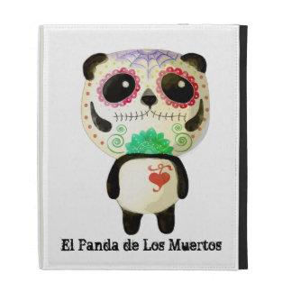 El Panda de Los Muertos iPad Folio Cover