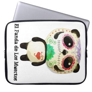 El Panda de Los Muertos Laptop Computer Sleeve