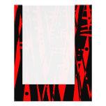 El panel 020 - Extracto en rojo y negro Tarjeton