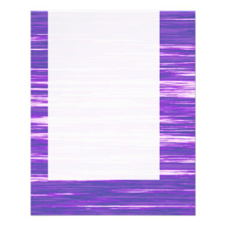 "El panel 03 - Interferencia púrpura Folleto 4.5"" X 5.6"""