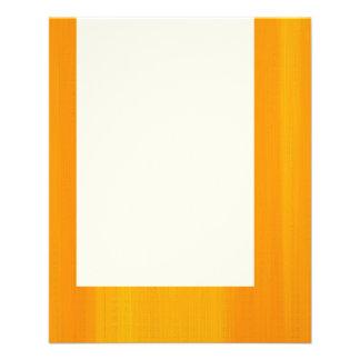 "El panel 044 - Naranja pintado Folleto 4.5"" X 5.6"""