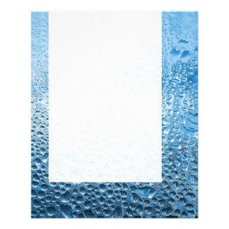 El panel 089 - Agua azul Tarjeta Publicitaria