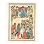 El panel antiguo asiático clásico membretes personalizados