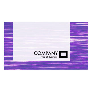 El panel - canal púrpura tarjetas de visita