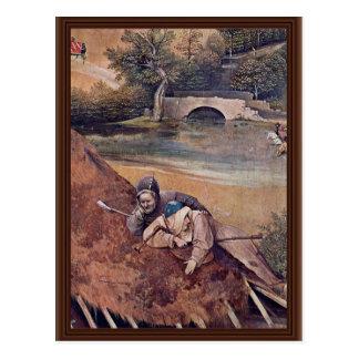 El panel central del tríptico de la epifanía: postales