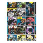 El panel cómico 5x5 de Batman Postales