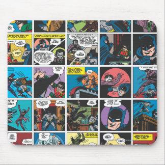 El panel cómico 5x5 de Batman Tapetes De Ratón