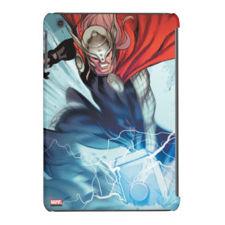 El panel cómico del martillo del Thor Carcasa Para iPad Mini Retina