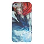 El panel cómico del martillo del Thor Funda De iPhone 6 Barely There