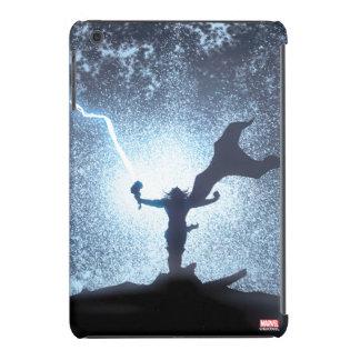 El panel cómico del relámpago del Thor Funda Para iPad Mini