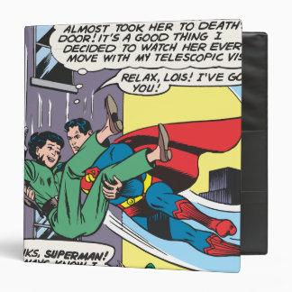 """El panel cómico del superhombre - Lois al instante Carpeta 1 1/2"""""""