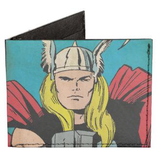 """El panel cómico del trueno del Thor """"dios"""" Billeteras Tyvek®"""
