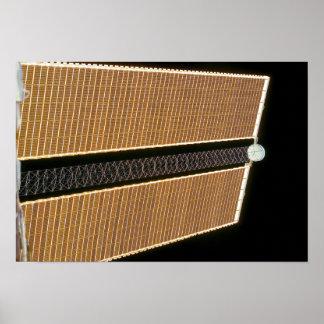 El panel de estribor del ala del arsenal solar poster