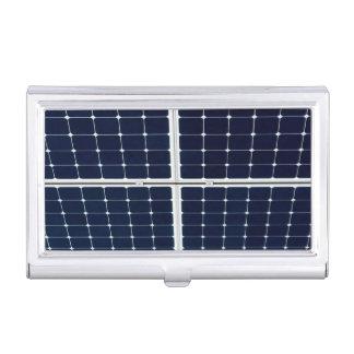 El panel de la energía solar cajas de tarjetas de presentación
