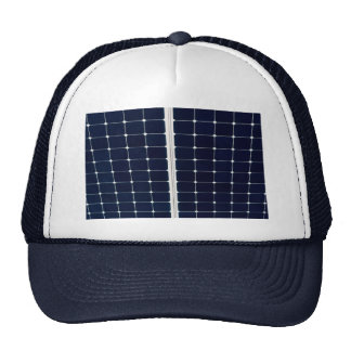 El panel de la energía solar gorros bordados