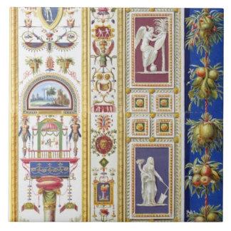 El panel de la logia de Raphael en el Vatican, de Azulejo Cuadrado Grande