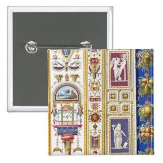 El panel de la logia de Raphael en el Vatican, de Pin Cuadrado