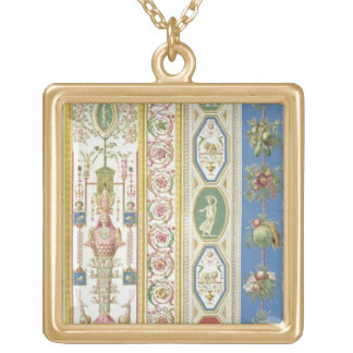 El panel de la logia de Raphael en el Vatican, eng Collares Personalizados