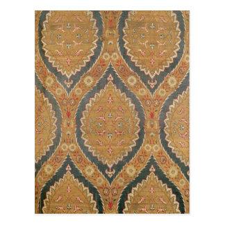 El panel de la materia textil, décimosexto/siglo tarjetas postales