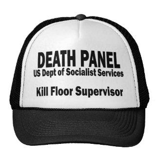El panel de la muerte - supervisor del piso de la  gorro de camionero