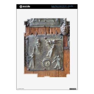 El panel de la puerta de la mano izquierda, siglo  pegatinas skins para iPad 3