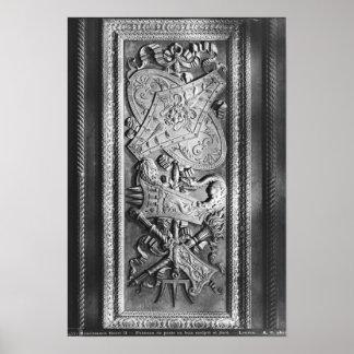 El panel de la puerta, estilo de Enrique II, c.155 Impresiones