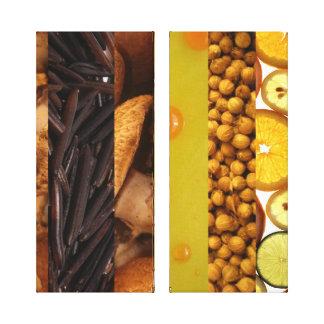 El panel de los ingredientes 2 de la cocina impresion en lona