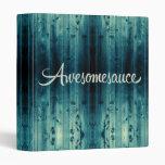 El panel de madera de Awesomesauce