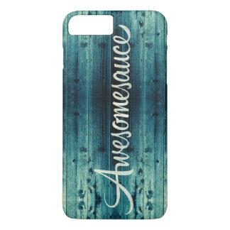 El panel de madera de Awesomesauce Funda iPhone 7 Plus