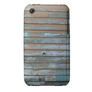 El panel de madera de la pintura de la peladura Case-Mate iPhone 3 protector