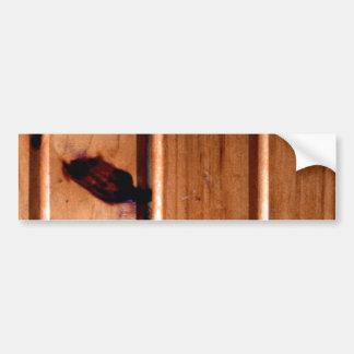 El panel de madera del Wainscoting Pegatina Para Auto