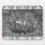 El panel de Overdoor con el tema chino, c.1730 Tapete De Ratones