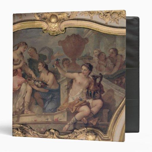 El panel decorativo del salón oval
