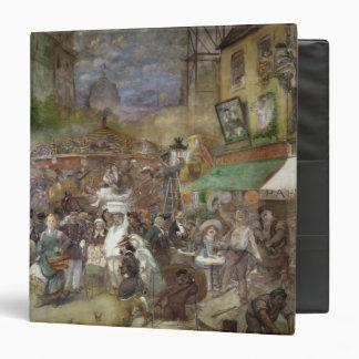"""El panel decorativo que representa París Carpeta 1 1/2"""""""