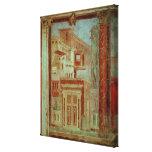 El panel del Cubiculum del dormitorio del Impresiones De Lienzo