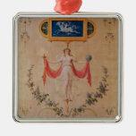 El panel del gabinete de señora de Marie-Antonieta Ornamento De Reyes Magos