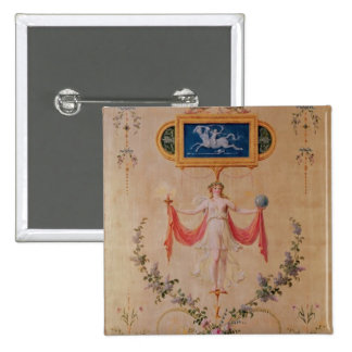 El panel del gabinete de señora de Marie-Antonieta Pins
