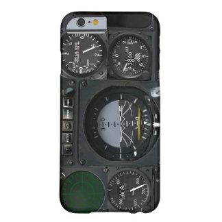 El panel del instrumento de aviones funda de iPhone 6 barely there