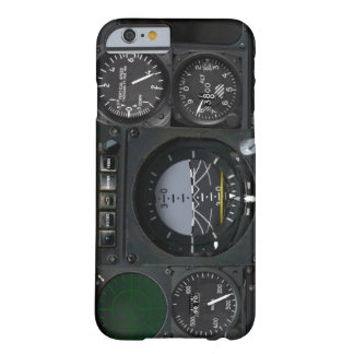 El panel del instrumento de aviones funda barely there iPhone 6