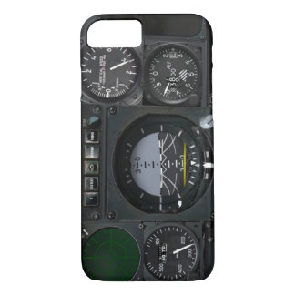El panel del instrumento de aviones funda iPhone 7