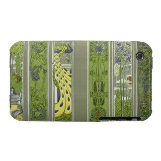 El panel diseña, la placa III de la PU del iPhone 3 Case-Mate Fundas