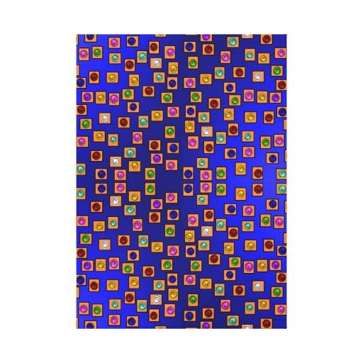 El panel dorado 01 impresiones de lienzo