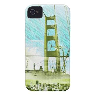 El panel icónico de GoldengateBridge San Francisco Case-Mate iPhone 4 Coberturas