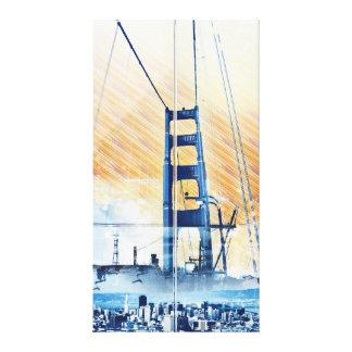 El panel icónico de GoldengateBridge San Francisco Impresion En Lona