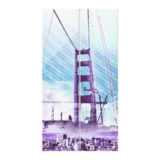 El panel icónico de GoldengateBridge San Francisco Impresiones De Lienzo