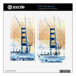 El panel icónico de GoldengateBridge San Francisco Skins Para HTC Thunderbolt