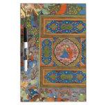El panel indio clásico, uno de un par pizarras blancas de calidad