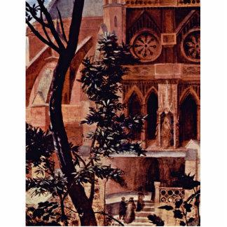 El panel medio del altar de Aschaffenburg: La Virg Fotoescultura Vertical