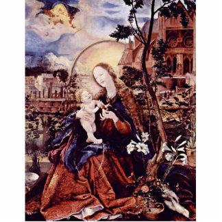 El panel medio del altar de Aschaffenburg: Maria c Fotoescultura Vertical